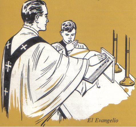Misa el evangelio