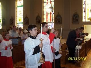 Misa procesion de entrada