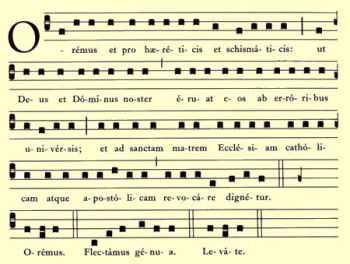 Misa oracion de los fieles