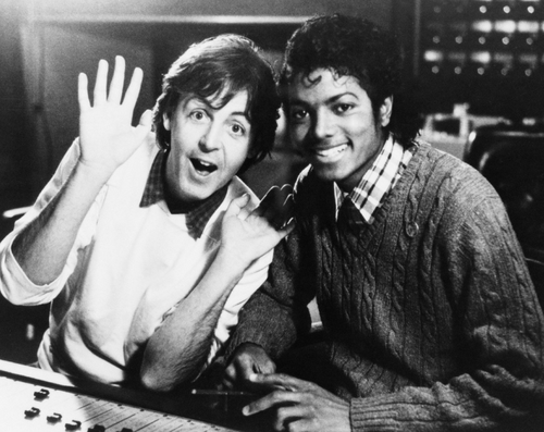 Paul+McCartney+MichaelJacksonPaulMcCartney