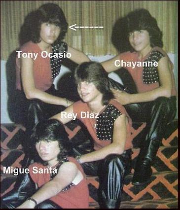 Los chicos tony